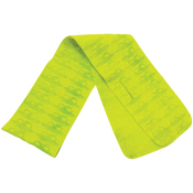 Bullhead Safety® - High-Visibility Lime Antimicrobial Cooling Towel- Pack of 10
