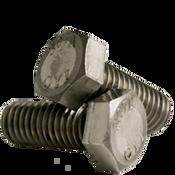 "7/8""-9x2-1/4"" Fully Threaded Hex Bolts A307 Grade A Coarse Low Carbon  Plain (10/Pkg.)"