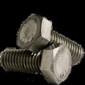 """1""""-8x3-1/2"""" (PT) Hex Bolts A307 Grade A Coarse Low Carbon  Plain (60/Bulk Pkg.)"""