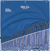 SET, Wrench, Combination, Black, SAE, 14 PC, Martin Sprocket #CB14K