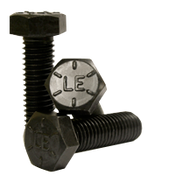 "5/16""-18x2-1/2"" Partially Threaded Hex Cap Screws Hex Cap Screws Grade 8 Coarse Alloy (USA) (100/Pkg.)"