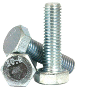 M8-1.25x55 mm (PT) DIN 931 / ISO 4014 Hex Cap Screws 10.9 Coarse Alloy Zinc CR+3 (100/Pkg.)