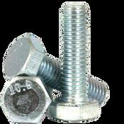 M8-1.25x80 mm (PT) DIN 931 / ISO 4014 Hex Cap Screws 10.9 Coarse Alloy Zinc CR+3 (100/Pkg.)