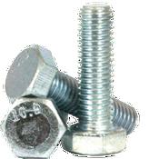 M20-2.50x90 mm Partially Threaded DIN 931 / ISO 4014 Hex Cap Screws 10.9 Coarse Alloy Zinc CR+3 (25/Pkg.)
