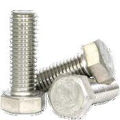 M8-1.25x80 mm Partially Threaded DIN 931 Hex Cap Screws Coarse Stainless Steel A2 (50/Pkg.)
