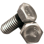"1/4""-28x1-1/2"" Partially Threaded Grade 2 Hex Cap Screw Plain (1,600/Bulk Pkg.)"