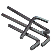 .050 Hex Keys Alloy 6150 Short Arm (Import) (100/Pkg.)
