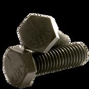 Plain Steel 1-8 x 3 Plow Bolt Grade 8 UNC Partial Thread #7 Bucket Tooth Head