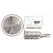 SB-41 Cylinder Shape, Premium Carbide Burr, with End Cut, Norseman Drill #17409