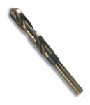 "11/16"" Type 130-D Super High Speed M42 Cobalt, 1/2"" Reduced Shank, Silver & Deming Drill Bit, Norseman Drill #29241"