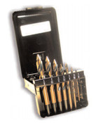 7 Piece Type 183-AG Acrylic Drills with Chipfree Point Magnum Super Premium Set, Norseman Drill #31580