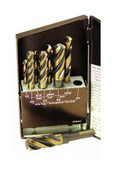 Type 134-AG Hole Hog 6 Piece Set  4-Flute Core Drills (SP-6HHS), Norseman Drill #NDT-38860