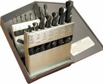 15 Piece CAD-15A V-Line, Heavy Duty, Mechanic Length Drill Bit Set, Norseman Drill #43352