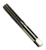 M8.0-1.00 HSS Type 33-AG Gold Oxide Straight Flute Hand Tap - Bottoming (3/Pkg.), Norseman Drill #61694