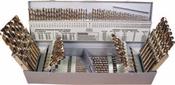115 Piece Type 150 M42 Cobalt Heavy Duty Jobber Length Drill Bit Set