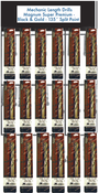 72 Piece Type 175-AG Mechanic Length Drills Premium Display Package