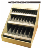 300 Piece Assortment, Type 115, Jobber Length General Purpose Fractional Drill Bit Set with Metal Display Case