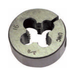 "1/4""x18 Hi-Carbon Steel Dies Type 415 - Adjustable (3/Pkg.), Norseman Drill #NDT-85430"