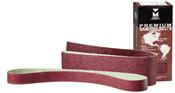 """Premium Portable Sanding Belt - 4"""" x 21"""", Grit: 60X , Mercer Abrasives 108060 (10/Pkg.)"""
