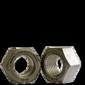"1/2""-20 Finished Hex Nut, Grade 5, Fine Medium Carbon Steel, Plain (100/Pkg.)"