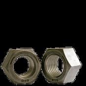 "1 1/8""-7 Finished Hex Nut, Grade 5, Coarse Medium Carbon Steel, Plain (10/Pkg.)"