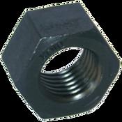 """1 1/8""""-12 Hex Nut, Grade 8, Fine, Medium Carbon Steel (10/Pkg.)"""
