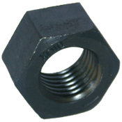 "1 1/2""-6 Hex Nut, Grade 8, Coarse, Medium Carbon Steel (10/Pkg.)"