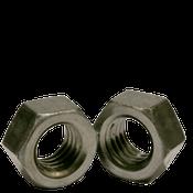 "1/4""-28 Finished Hex Nuts, Grade 2, Fine, Low Carbon Steel, Plain (100/Pkg.)"