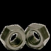 "9/16""-18 Finished Hex Nuts, Grade 2, Fine, Low Carbon Steel, Plain (100/Pkg.)"