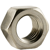 "1 1/8""-7 Finished Hex Nuts, Coarse, Stainless Steel 18-8, ASTM F594 (10/Pkg.)"
