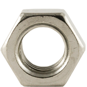 M6-1.00 Hex Nut, DIN 934, Coarse, Stainless Steel A2-70 (100/Pkg.)