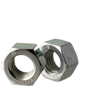 M5-0.80 Finished Hex Nut, Class 10, DIN 934 Zinc Cr+3 (100/Pkg.)