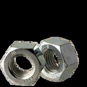 M6-1.00 Finished Hex Nut, Class 10, DIN 934 Zinc Cr+3 (100/Pkg.)