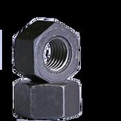 "1""-8 Heavy Hex Nut, A194/SA194 2H, Coarse, Medium Carbon Steel, Plain (40/Pkg.)"
