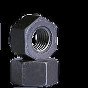 "1 1/8""-8 Heavy Hex Nut, A194/SA194 2H, 8 Pitch, Medium Carbon Steel, Plain (10/Pkg.)"