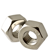 "5/16""-18 Heavy Hex Nut, Coarse, Stainless Steel A2 (18-8) (100/Pkg.)"