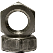 "1 1/8""-12 Hex Jam Nut, Fine, Low Carbon Steel (10/Pkg.)"