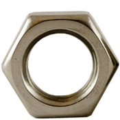 """1/2""""-13 Hex Jam Nut, Coarse, Stainless Steel A2 (18-8) (100/Pkg.)"""
