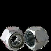 """3/4""""-10 NE (Standard) Nylon Insert Locknuts, Coarse, Low Carbon, Zinc Cr+3 (50/Pkg.)"""