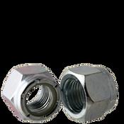 """9/16""""-18 NE (Standard) Nylon Insert Locknuts, Fine, Low Carbon, Zinc Cr+3 (100/Pkg.)"""