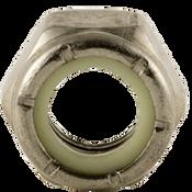 "1/2""-13 NTE (Thin) Nylon Insert Locknut, Coarse, Stainless A2 (18-8) (100/Pkg.)"