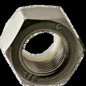 "1/2""-13 NTE (Thin) Nylon Insert Locknut, Coarse, Stainless 316 (100/Pkg.)"