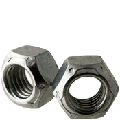 "3/8""-16 All Metal Hex Locknuts Grade C Med. Carbon Zinc & Wax Cr+3 (100/Pkg.)"
