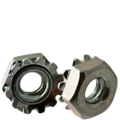 #10-24 Coarse Thread KEPS Nut//Star Nut with External Tooth Lockwasher Low Carbon Steel Zinc Plated Pk 100