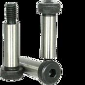 M6-M5x50 MM Socket Shoulder Screws 12.9 Coarse Alloy ISO 7379 Thermal Black Oxide (25/Pkg.)