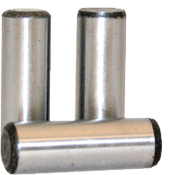 "1""X2-1/2"" Dowel Pins Alloy Thru Hardened (10/Pkg.)"
