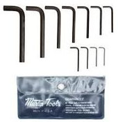 11 Piece Hex Key Set Short Arm Series, Martin Sprocket #11S