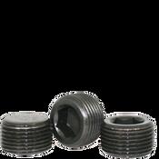 "Image of 3/8""-18 Pipe Plugs Alloy Dry-Seal 3/4"" Taper Black Oxide (USA) (1100/Bulk Pkg.)"