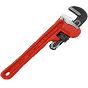 "Straight Iron Handle Pipe Iron Wrench 6"", Martin Sprocket #PW6"