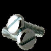 """#8-32x7/8"""" F/T Machine Screw Pan Head Slotted Zinc Cr+3 (7,500/Bulk Pkg.)"""